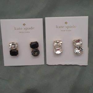 """KATE SPADE 2 PAIR """"Bright Ideas"""" earrings$58 each"""